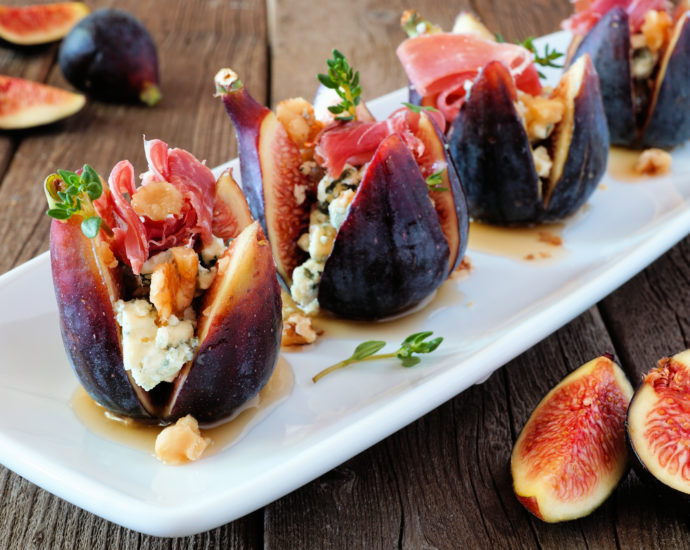 Fig With Goat Cheese Appetizer